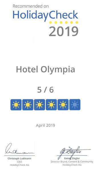 Hotel Olympia München - Bewertung Holiday Check